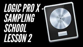 Dante Lewis | Logic Pro X Sampling School Lesson 2 (Time Stretching)