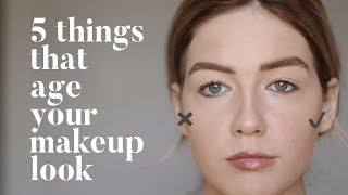 5 Subtle Things That Can Age Your Makeup
