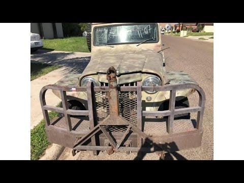 1960 Jeep Willys Wagon huntin g vehicle (photo slideshow)