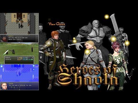 Heroes Of Shaola - Gameplay [Casual Retro RPG/JRPG (Rpg Maker)]