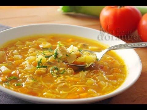 recette de chorba soupe aux l gumes moroccan vegetable. Black Bedroom Furniture Sets. Home Design Ideas