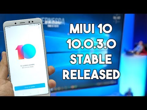 MIUI 10.0.3.0 Global Stable Released For Redmi Note 5 Pro