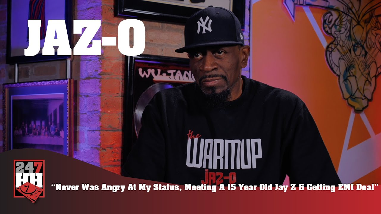 Jaz-O - Never Was Angry At My Status, Meeting A 15 Year Old Jay Z & Getting EMI Deal (247HH EXCL)