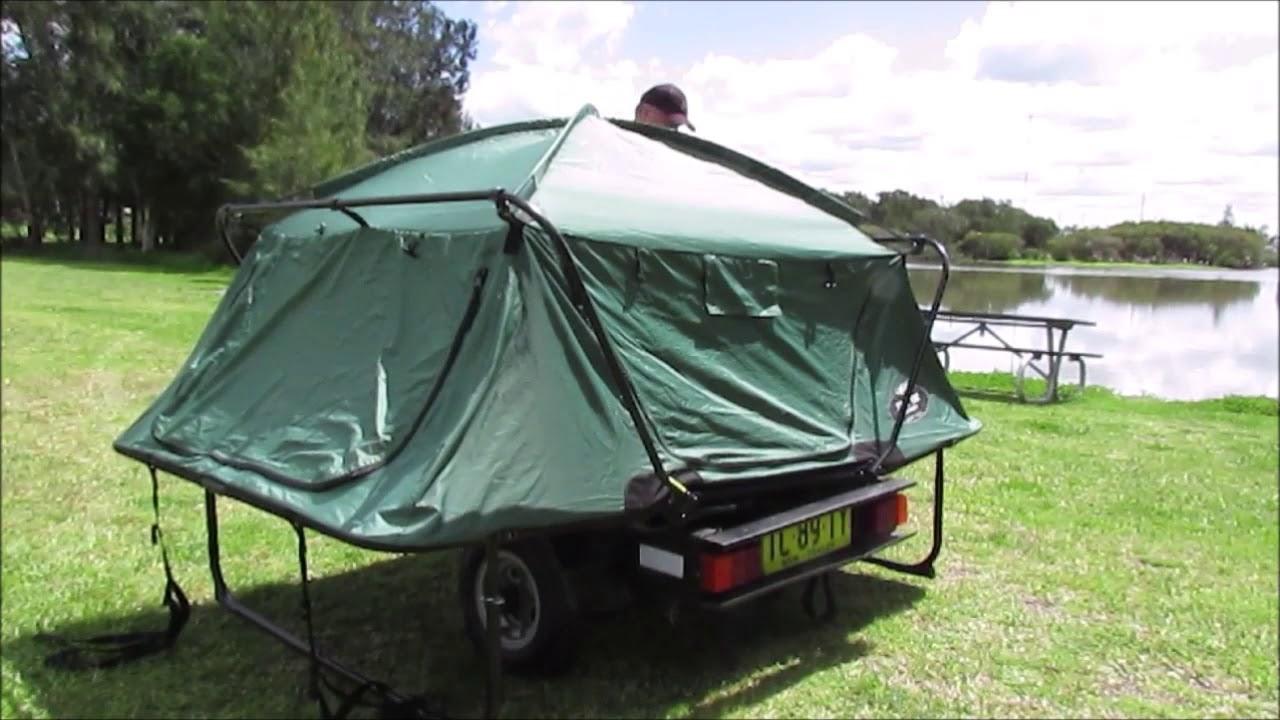 Kamprite Double Cot Tent Youtube