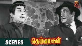 Deiva Magan Tamil Movie Scenes | Deiva Magan Climax Scene | Sivaji | Jayalalitha | Thamizh Padam