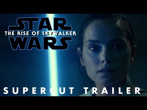 Star Wars The Rise of Skywalker Supercut Trailer (ALL FOOTAGE)