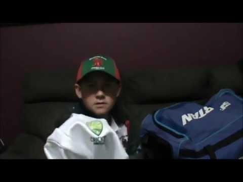 My 2015 16 Cricket Kit Bag