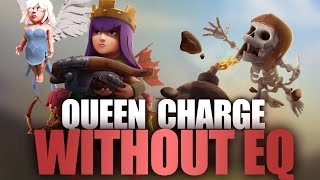 How To Queen Charge Lavaloon Without Earthquake | Full Guide TH9 Strategy | Clash Of Clans Tutorial