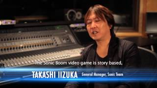 Sonic Boom - Behind the Scenes