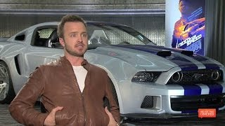 Need For Speed Interview With Aaron Paul, Scott Mescudi, Imogen Poots And More [HD]