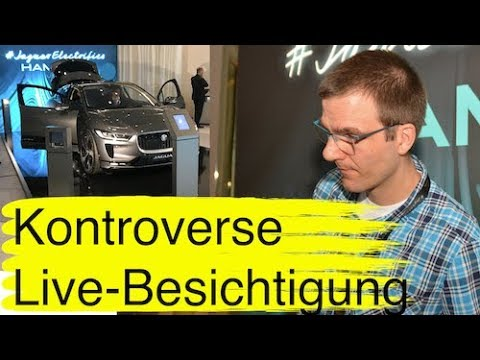 """Jaguar I-Pace 1. Live-Eindruck vom Elektroauto beim private viewing mit """"großen"""" Überraschungen"""