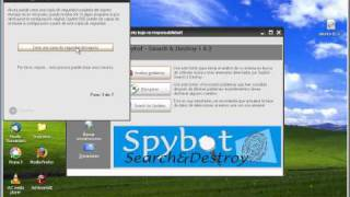 Spybot sd 1.6.2 Programa antiespias y troyanos Windows Xp etc, para Ubuntu no sirve.