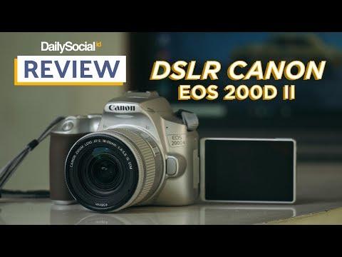 [Review] Canon EOS 200D II, Oke Nggak DSLR di Tahun 2019?