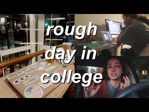 so this is the reality of college in a vlog lol