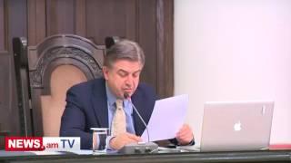 Կարեն Կարապետյանի հանձնարարականները