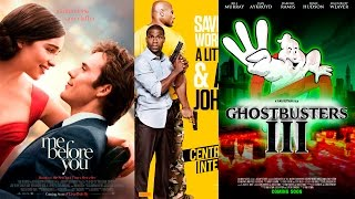 3 BEST MOVIE of SUMMER 2016: Me Before You.Central Intelligence.Ghostbusters 3 - Upcoming!