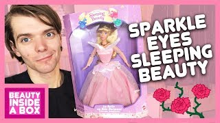 Sparkle Eyes Sleeping Beauty (1996) - Doll Review - Beauty Inside A Box