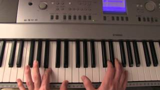 How to play Coldplay - Speed Of Sound on piano (Part 1)
