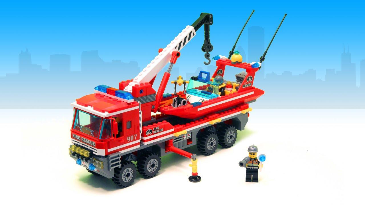 Construction games for kids firetruck