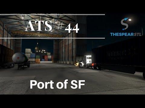 American Truck Simulator #44 - Port of San Francisco