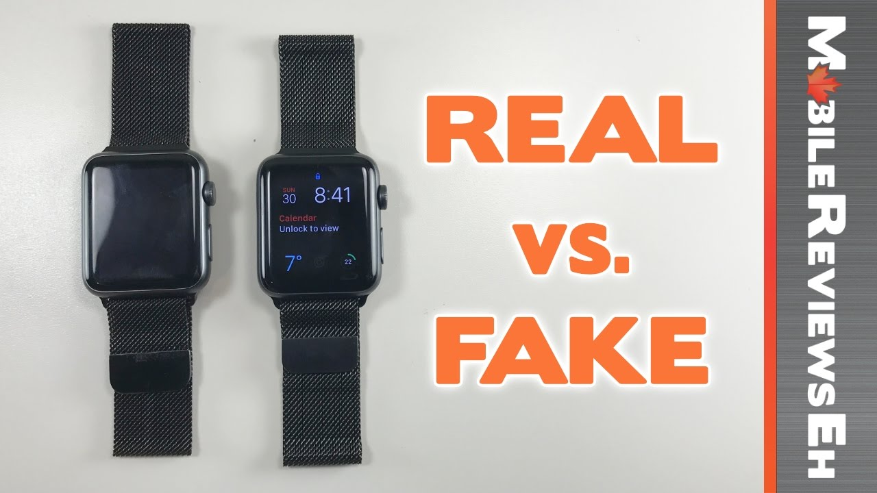 Worth The 240 Dollar Difference Real Vs Fake Apple Watch Milanese