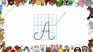 Bé học chữ | Em tập viết bảng chữ cái tiếng việt lớp 1 | Viết chữ In hoa | Dạy bé thông minh