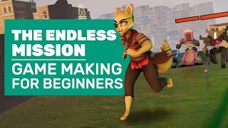 The Endless Mission Is About Game Making And Game Breaking | Endless Mission Gameplay