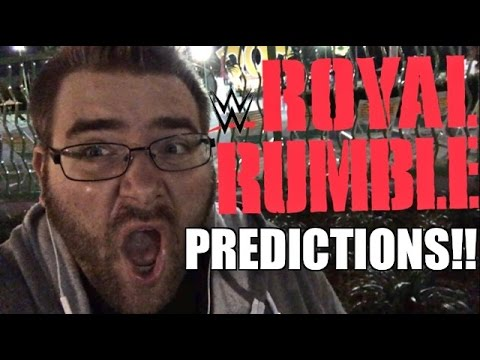 WWE ROYAL RUMBLE 2016 PPV Predictions! Full Card Match Preview! January 24, 2016