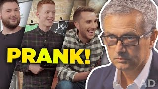 José Mourinho PRANKS Football Daily!