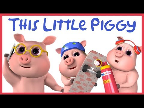 This Little Piggy Went to Market | Baby Pig Dance | Sing and Dance! | Animal Song for Kids