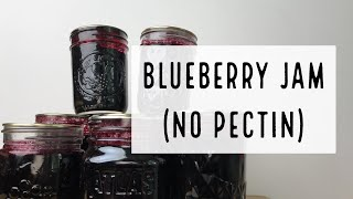Blueberry Jam without Pectin | How To Homestead