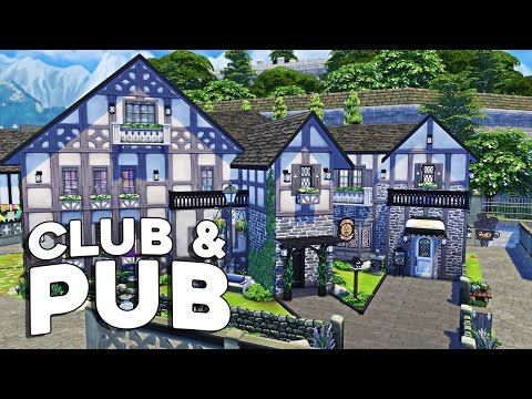 The Sims 4 Speed Build  - Club & Pub