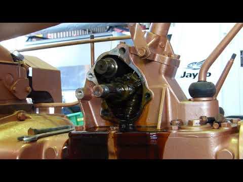 Ferguson FE35 Grey And Gold Restoration Part 17 Steering Box Seals