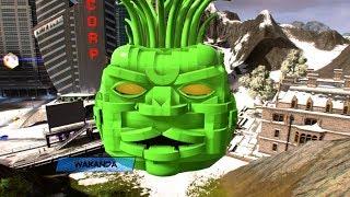 LEGO Marvel Super Heroes 2 Supreme Intelligence Boss Free Roam PC MOD 4k Ultra HD 2160p!