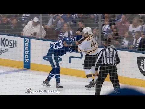 David Backes vs Nazem Kadri Oct 15, 2016