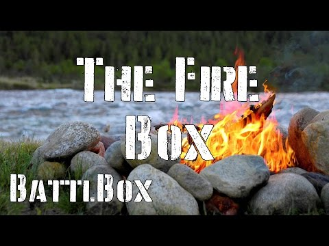 Battlbox Review Mission 17: Fire Starter Box: