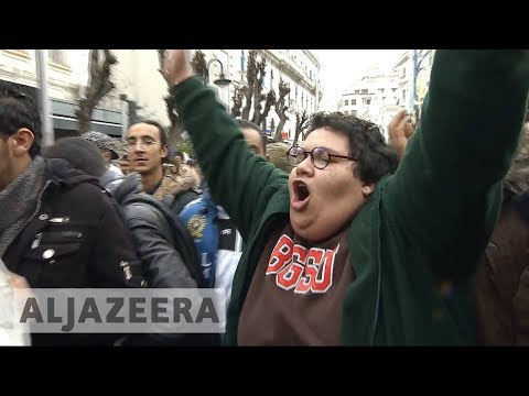 Tunisia protests 🇹🇳: Almost 800 protesters arrested