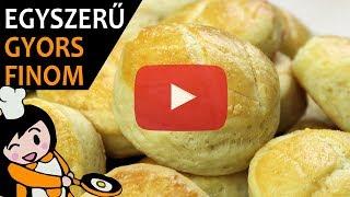Vajas pogácsa - Recept Videók