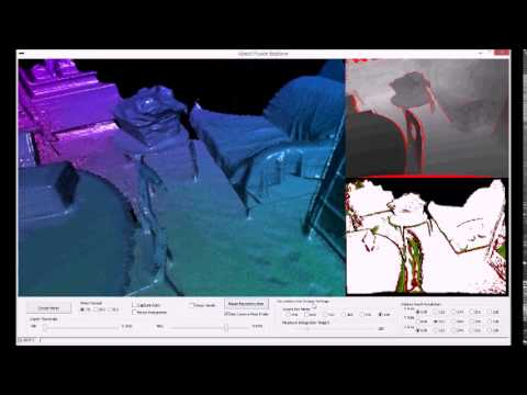 3D Scan with Kinect 2 and a preview version of Kinect Fusion