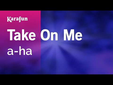 Karaoke Take On Me - a-ha *