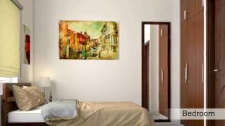 2BHK Complete Home interiors