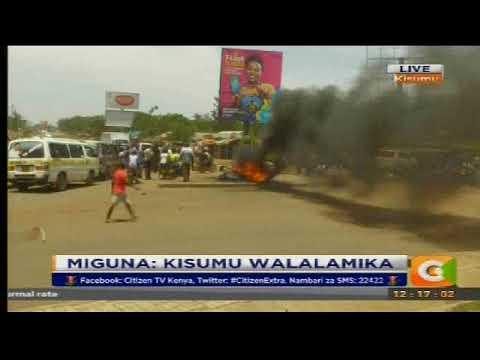 Citizen Extra: Miguna: Kisumu walalamika