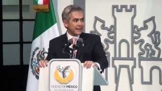 Mancera Presenta el Nuevo Modelo del Registro Público de la Propiedad y de Comercio