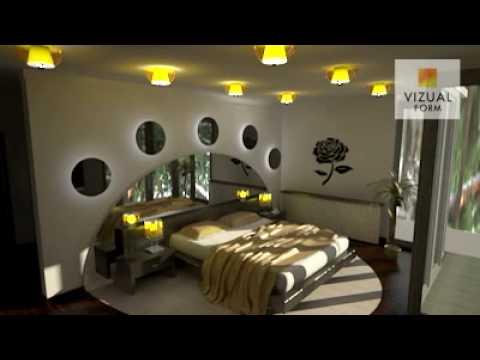 Nowoczesna Aranżacja Wnętrza Sypialni Design Bedroom Vizualform