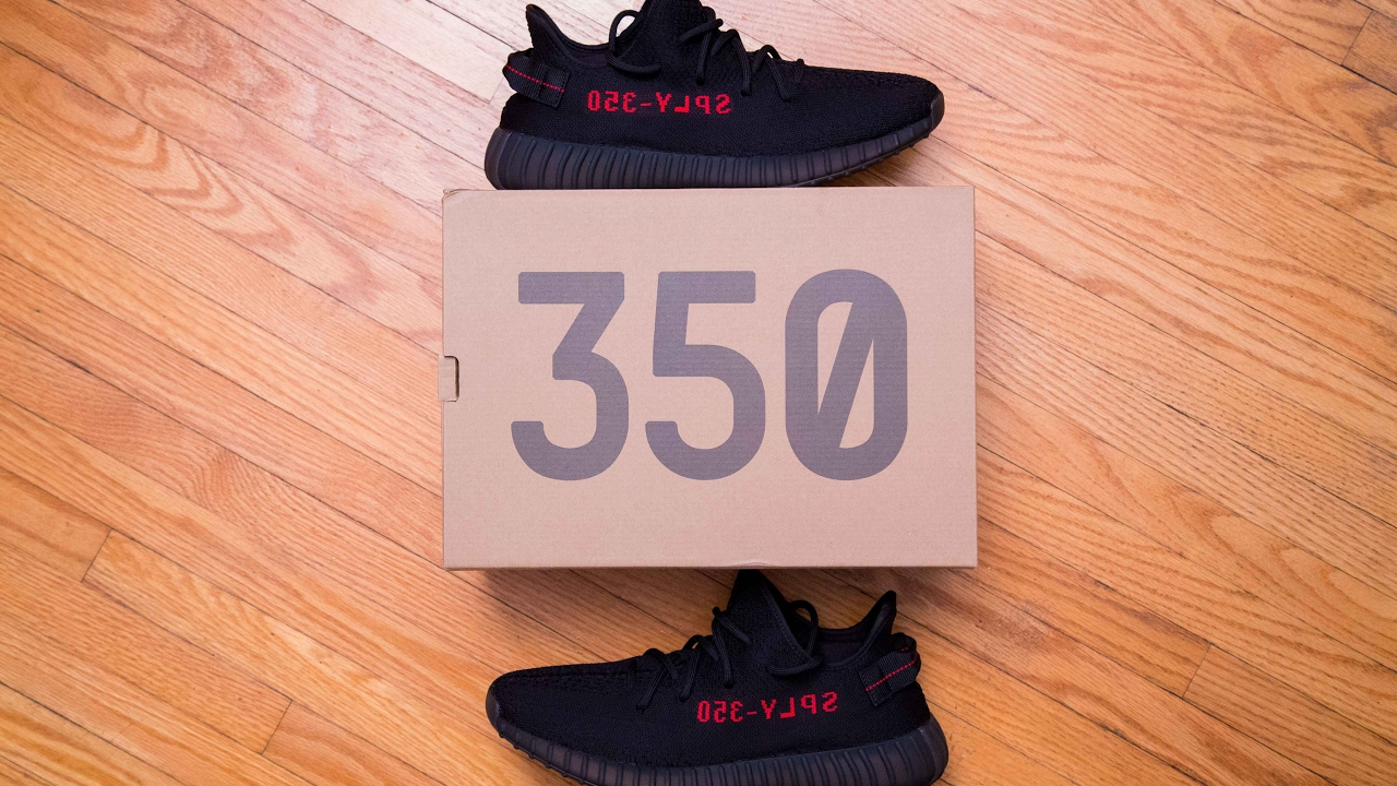 9dfdc4b544d2 Adidas Yeezy Boost 350 V2 Pirate Black   Bred Review and On Feet ...