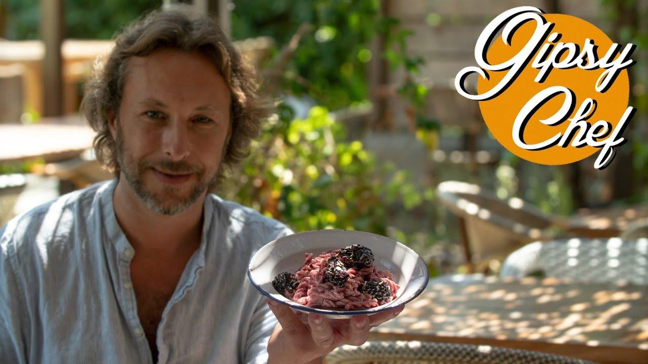La pasta con yogur y fruta más sorprendente de Gipsy Chef