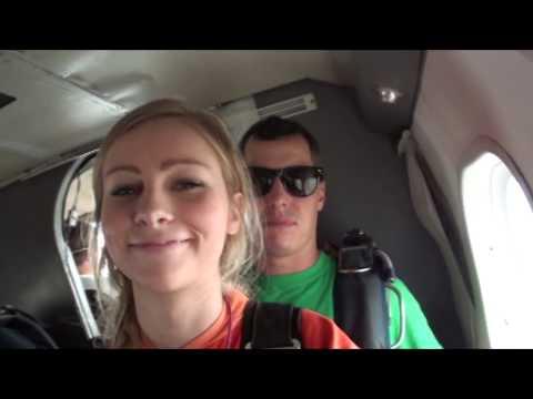 Rebecca Randall skydive