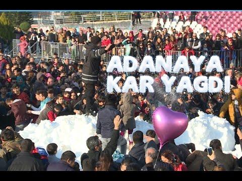 Adana'da Kar Eğlencesi