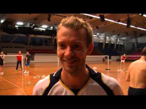Carsten Mogensen is ready for Yonex Denmark Open