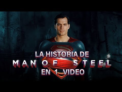 Superman Man of Steel I La Historia en 1 Video